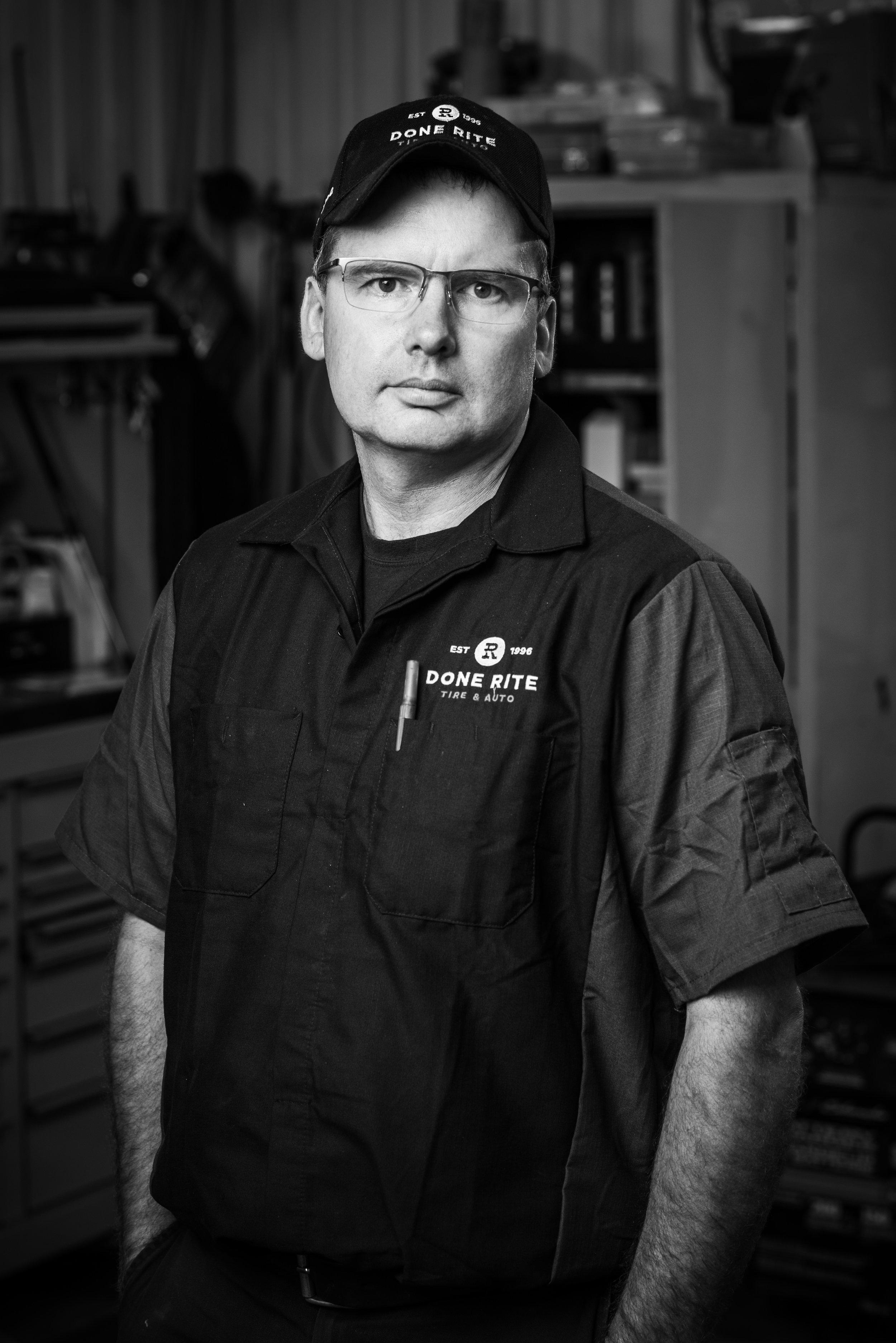 Kevin Hurley, Shop Foreman