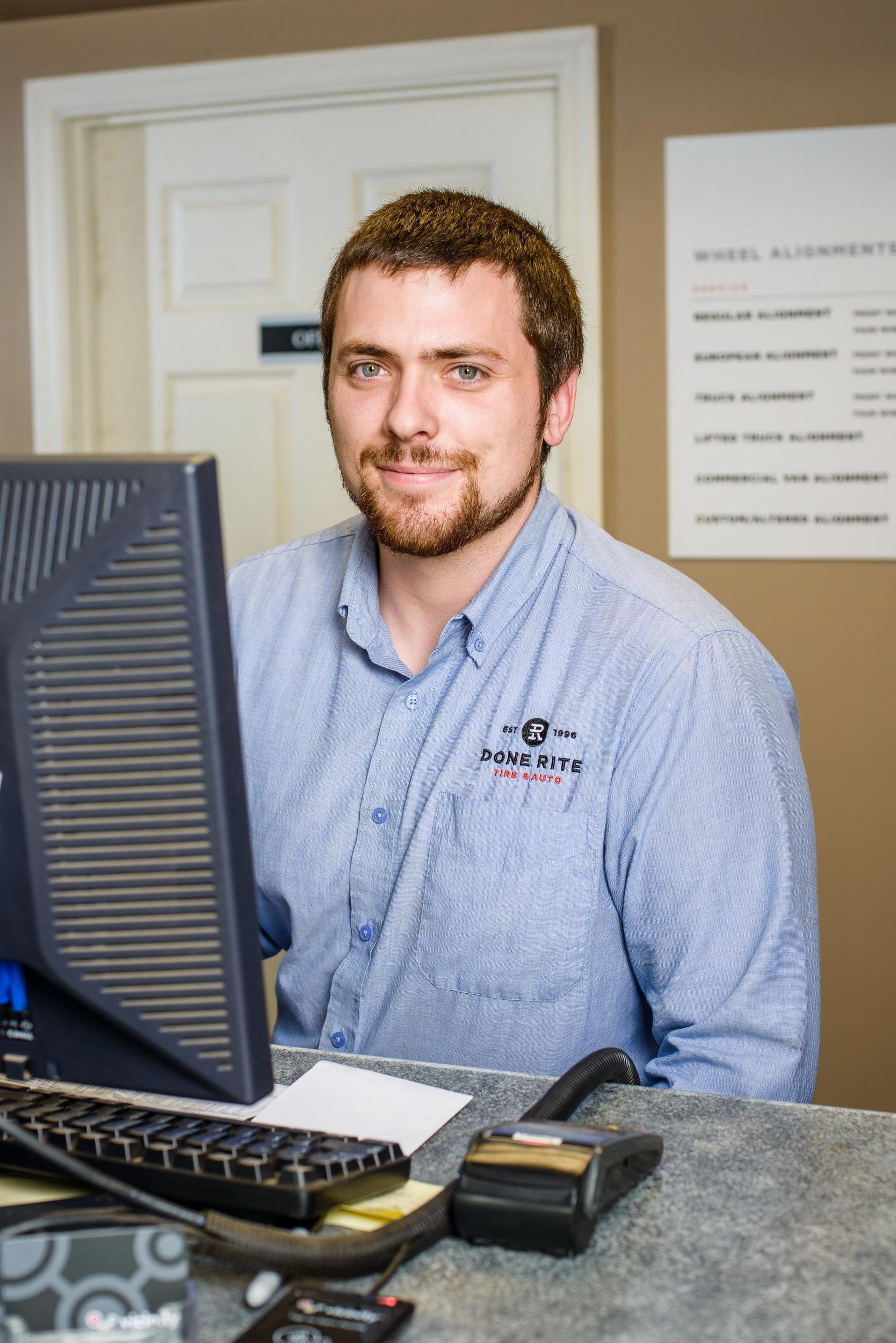 Matthew Dobson, Service Writer