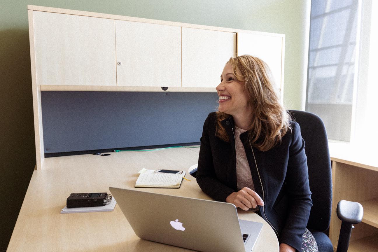 Curatio CEO Lynda Brown-Ganzert