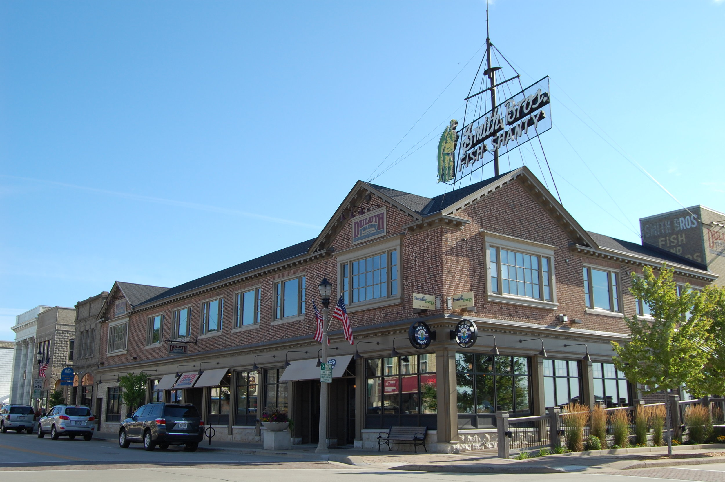 Smith Brothers Building/Duluth Trading Company - Port Washington, WI