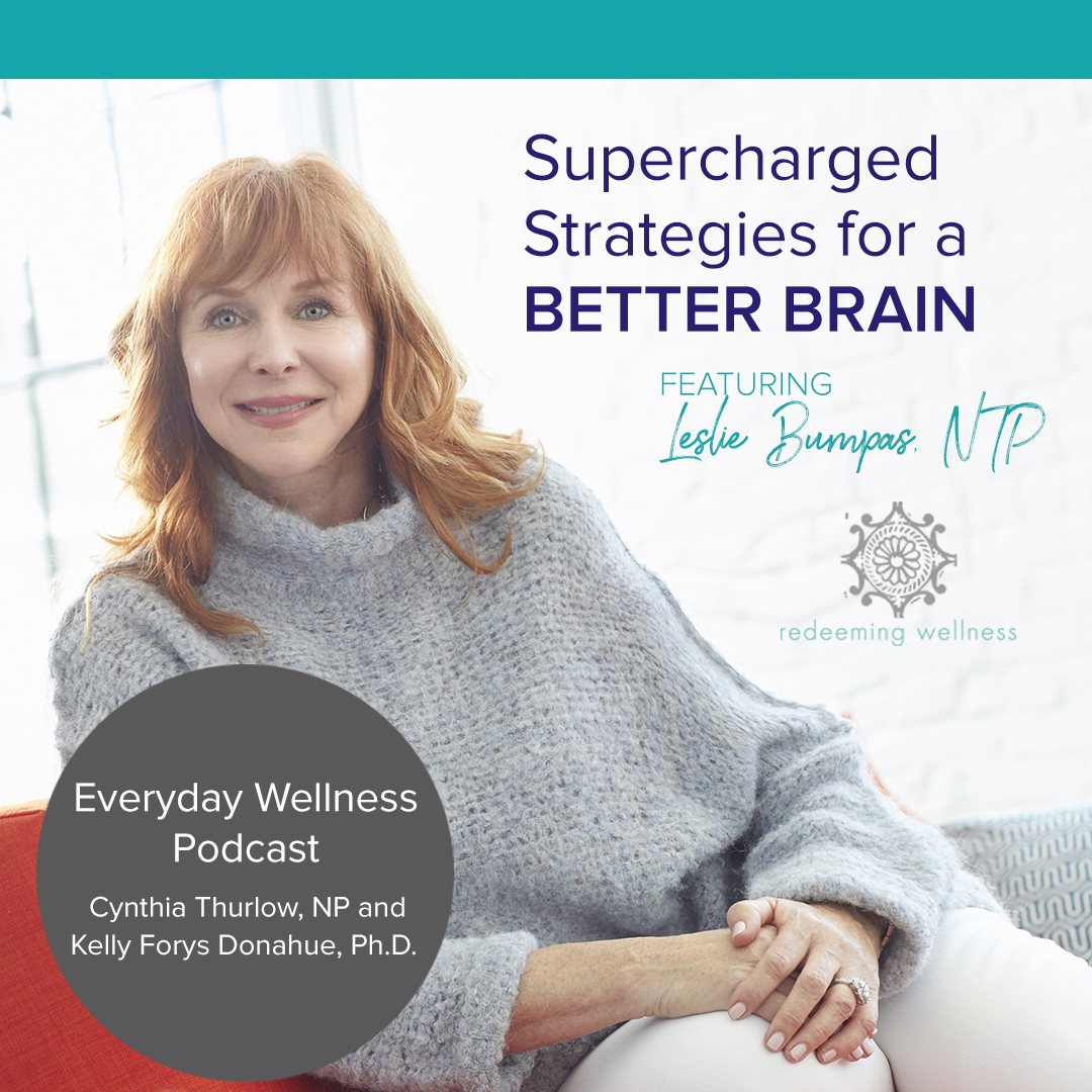 The genetic component is just a small part of it… - Discover ways to protect your brain! The Everyday Wellness podcast recently featured guest Leslie Bumpas, NTP.Listen to the podcast →