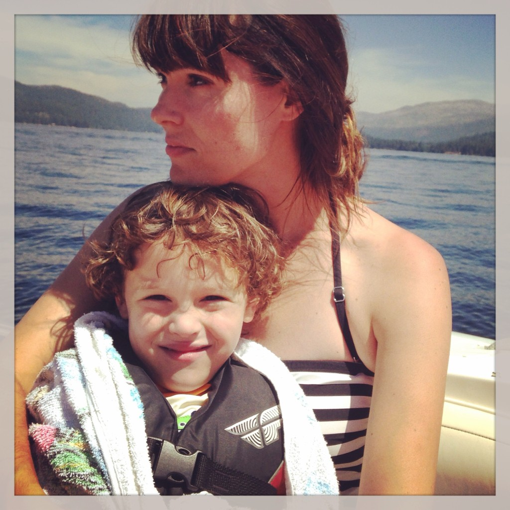 Boat Day with my Boy