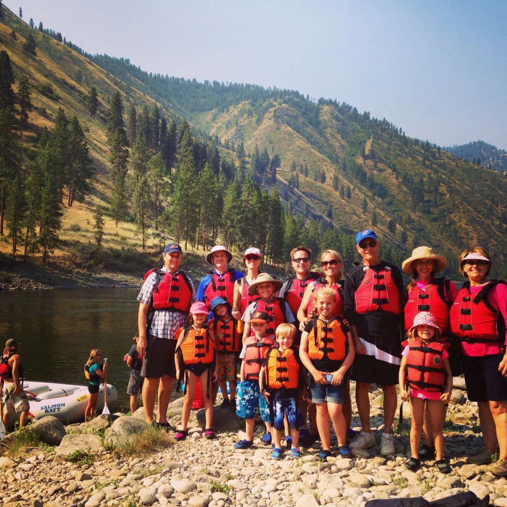 White Water Rafting on the Salmon River