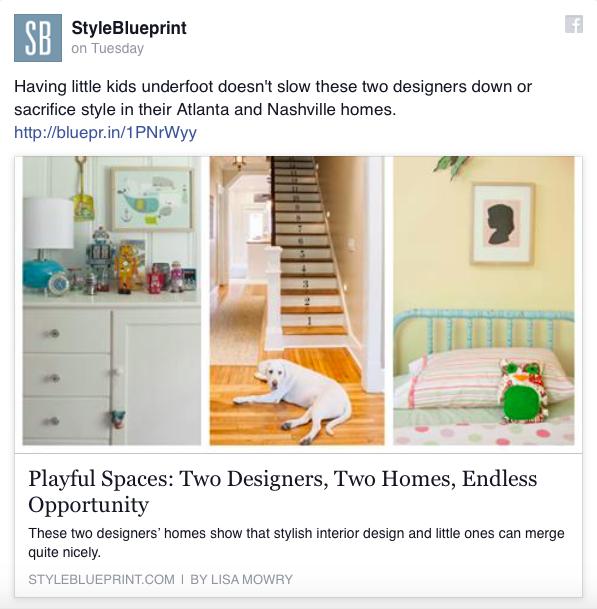 Gina Sims Designs Interior Design Style Blueprint