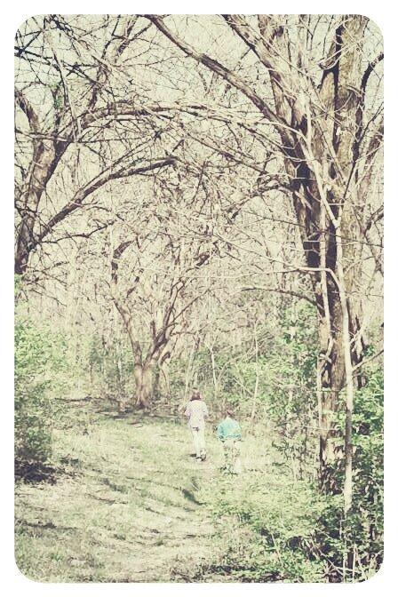 Wander Lust. Childhood strolls.
