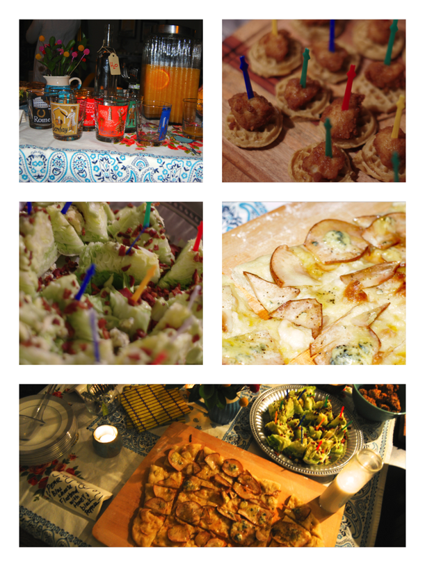 Favorite Things Party- the Food