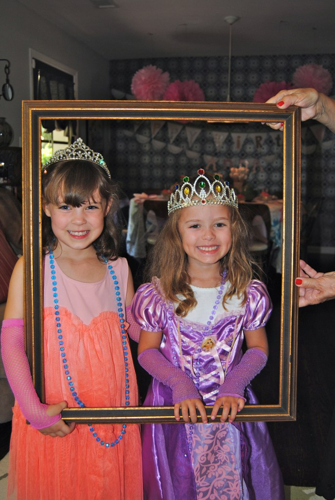 I love photo booths like nothing else in life. Dressing up and acting like a kid are prerequisite for adults and if you add cute 5 year old princesses? Oh yeah. Adorbs.