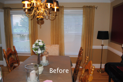 Dining Room Before - Morris'