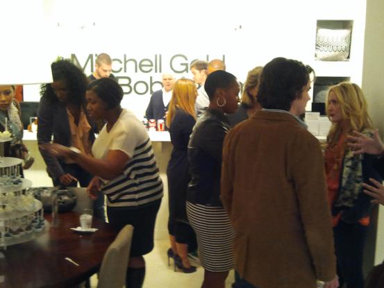 Mitchell Gold + Bob Williams Atlanta, hosts of the Room Service Atlanta reception, We had a great time!