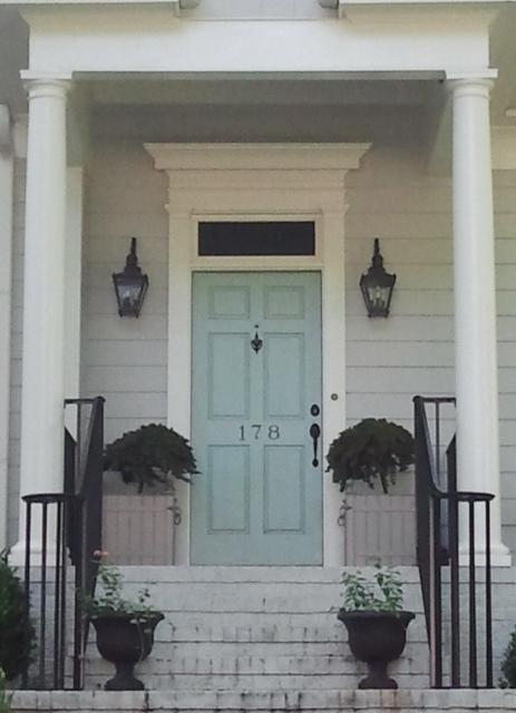 Decatur Door Post