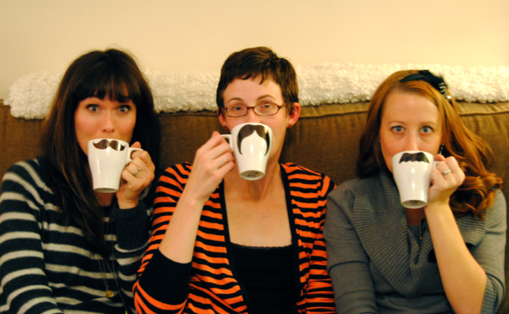 We liked our mustache mugs the best!