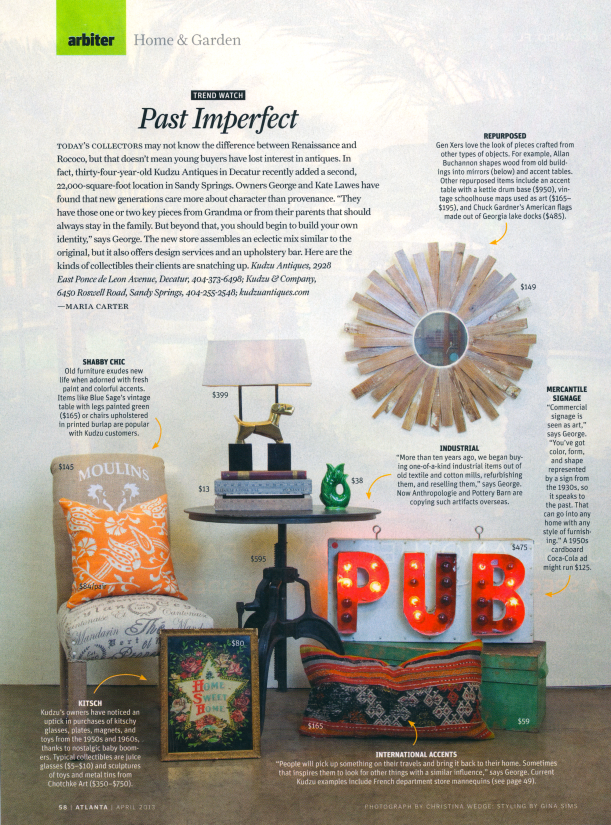 Atlanta Magazine at Kudzu & Company