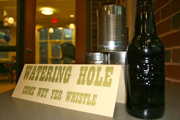 Come Wet Yer Whistle down at the Watering Hole, ya'll!