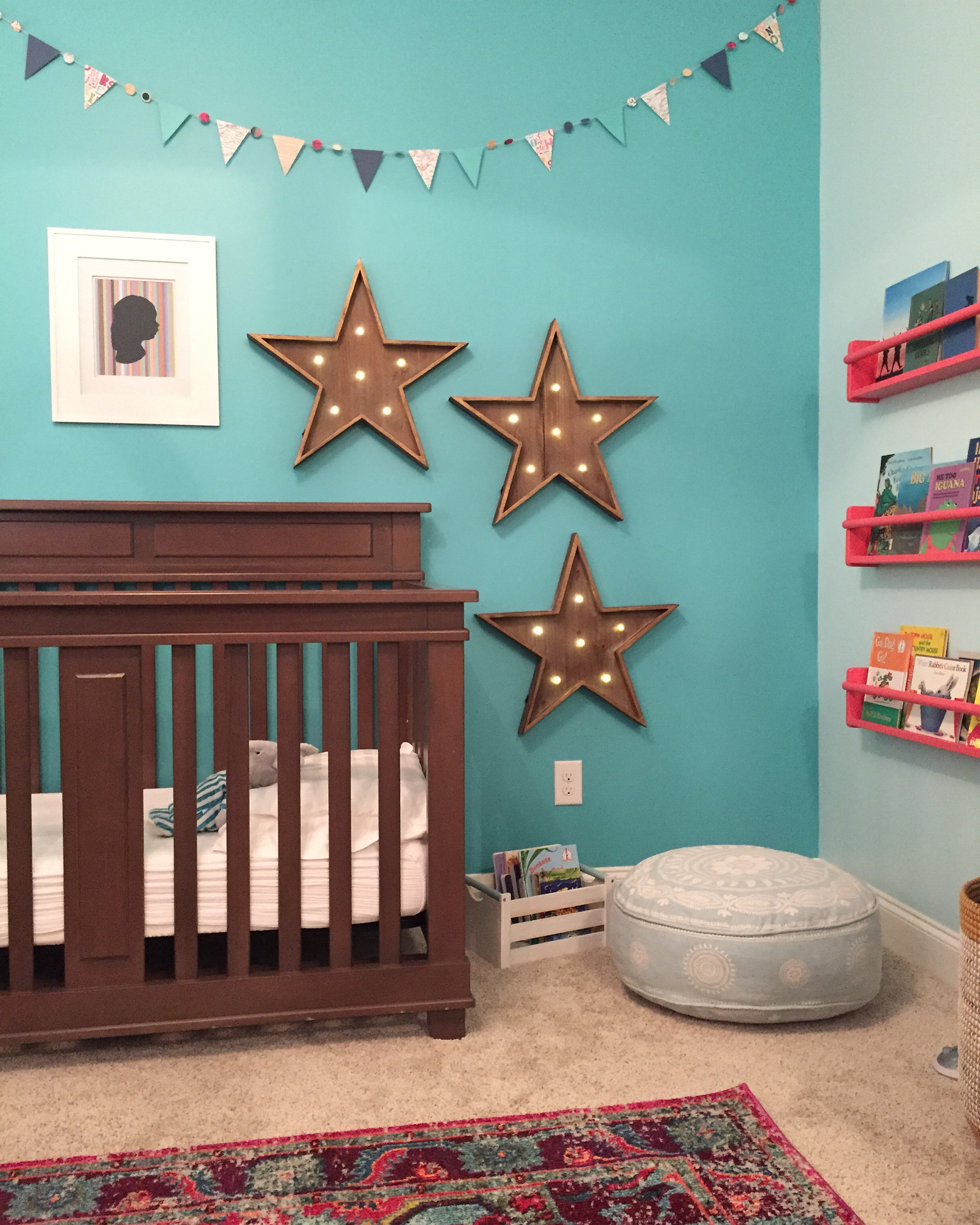 "This is the ""after"" of the last time I worked on this little girl's room and served as the ""before"" for this project: still adorable, but in need of an age-appropriate update.  Photo Credit: Cati Teague Photography for Gina Sims Designs"