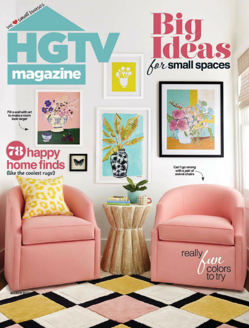 Gina Sims Designs in HGTV Magazine March 2019.png