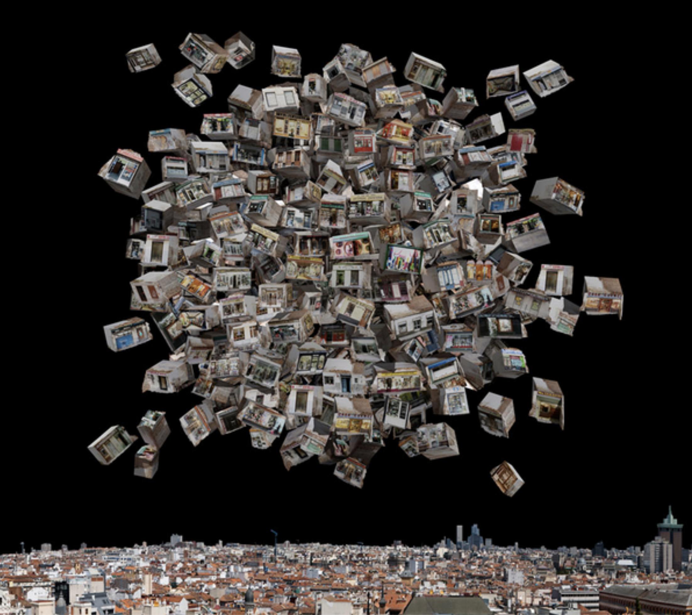"""Título:  """"Paisajes del futuro No. 11""""  Autor : Rosa Muñoz  Técnica:  Fotografía  Medidas:  125 x 136.5 cm"""