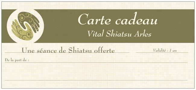 Carte cadeau pour une séance de shiatsu par Cédric Peretou au Pôle Santé Camargue, 13200 Arles