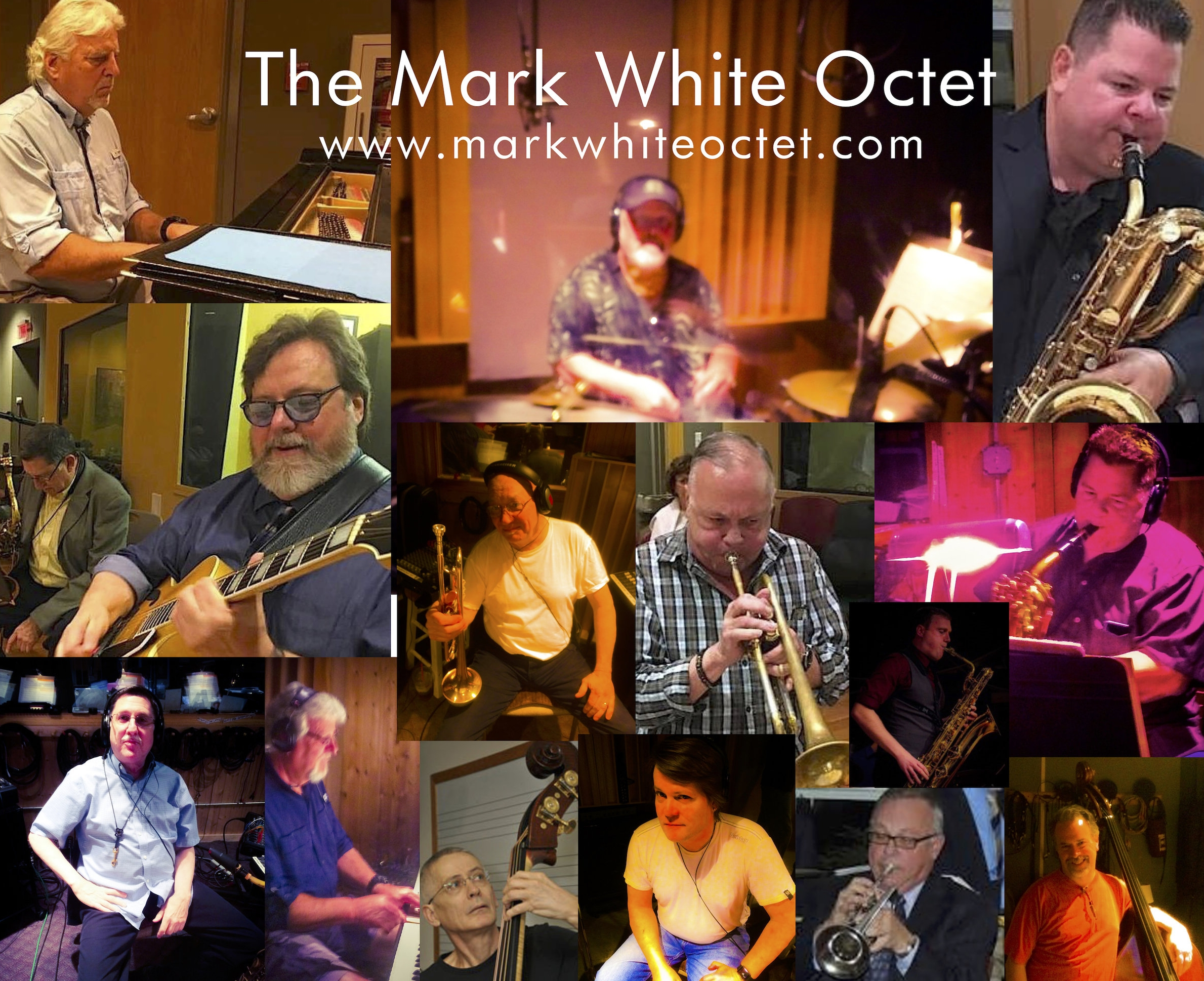 Candid Photos - Mark White Octet