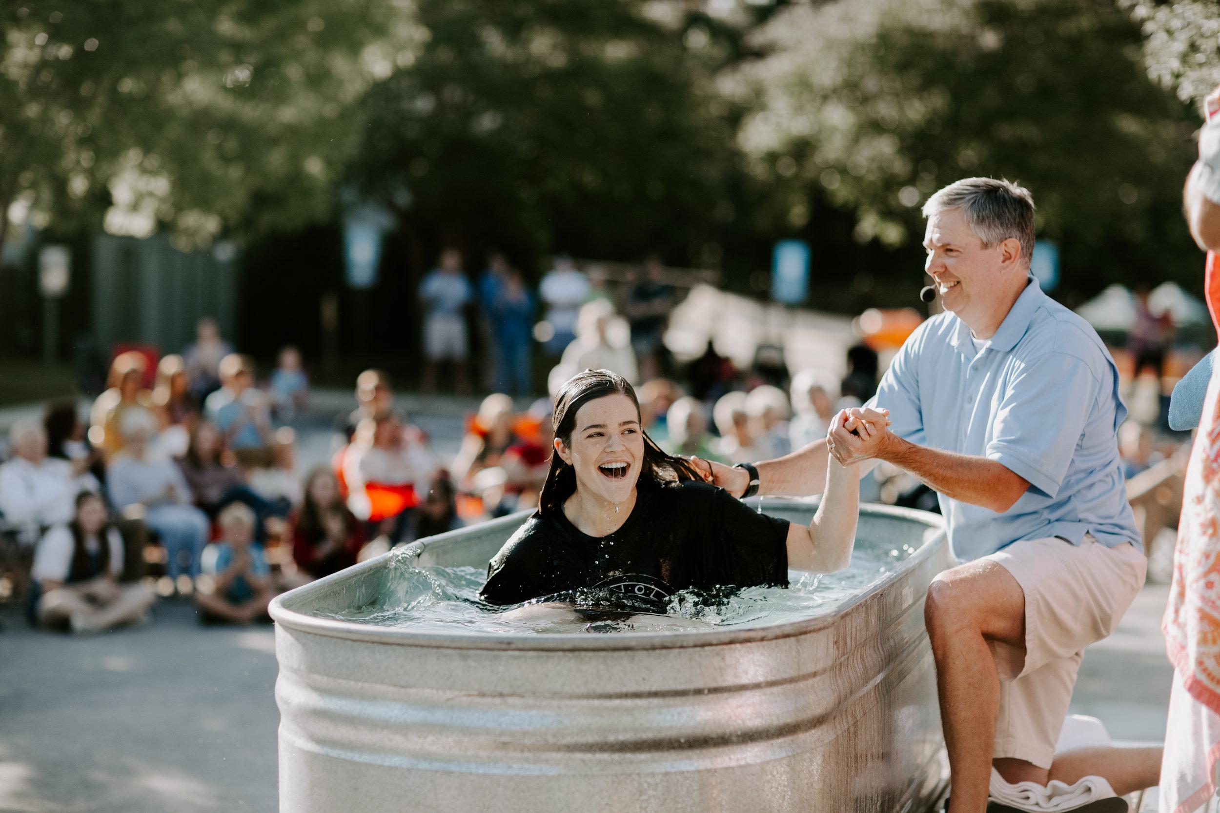 baptism -