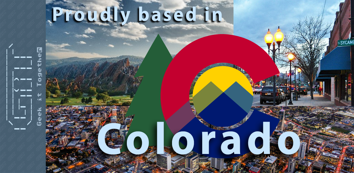 Proudly based in Colorado