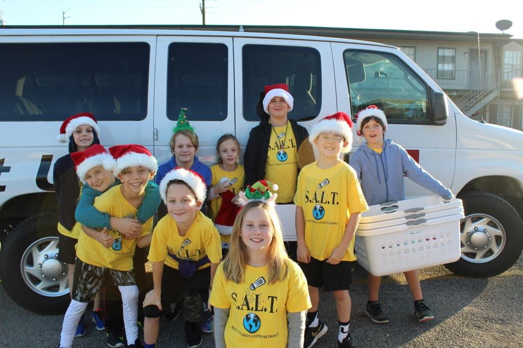 S.A.L.T. (3rd-5th grade) - Meets the third Monday of each month from 3:30pm-5:30pm to carry out hands-on mission projects. This program is an extension of the Sunday School program and for members only.2019-2020 S.A.L.T Mission Club (3rd-5th)