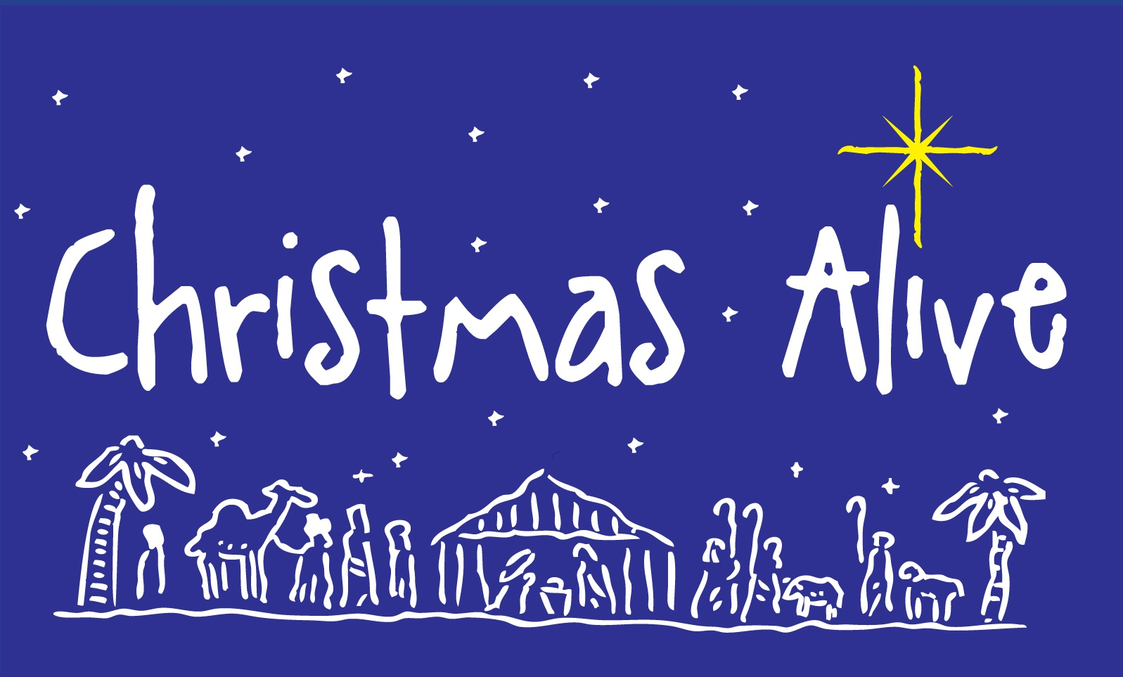 Christmas Alive & Backyard Party - West University United Methodist Church's annual live nativity called Christmas Alive will be held at 6pm on Sunday, December 8, 2019 on the front lawn of the church. Raindate: December 15, 2019.Following the performance, a community-wide Christmas Party will be held on the back of our property. A petting zoo with camel rides, children's crafts, hot wassail, desserts, and a photo booth will all be featured.If you would like to help with Christmas Alive, please contact our Director of Music Ministries, Lynne Jackson.