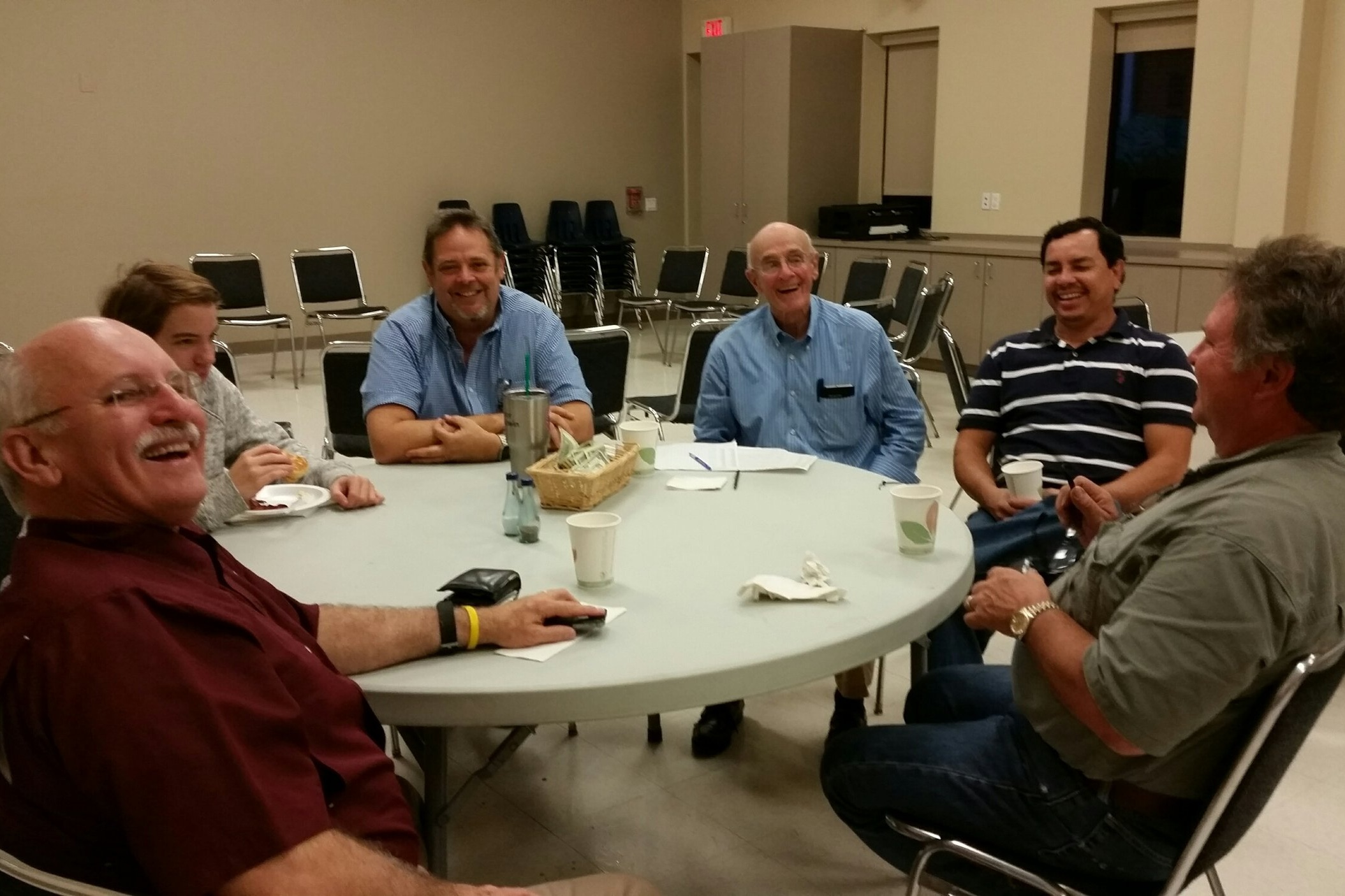 Men's Breakfast - Men gather every Wednesday morning at 6:30am in the Drummet Building adjacent to the back parking lot for a hearty breakfast, fellowship, and an engaging Bible study.