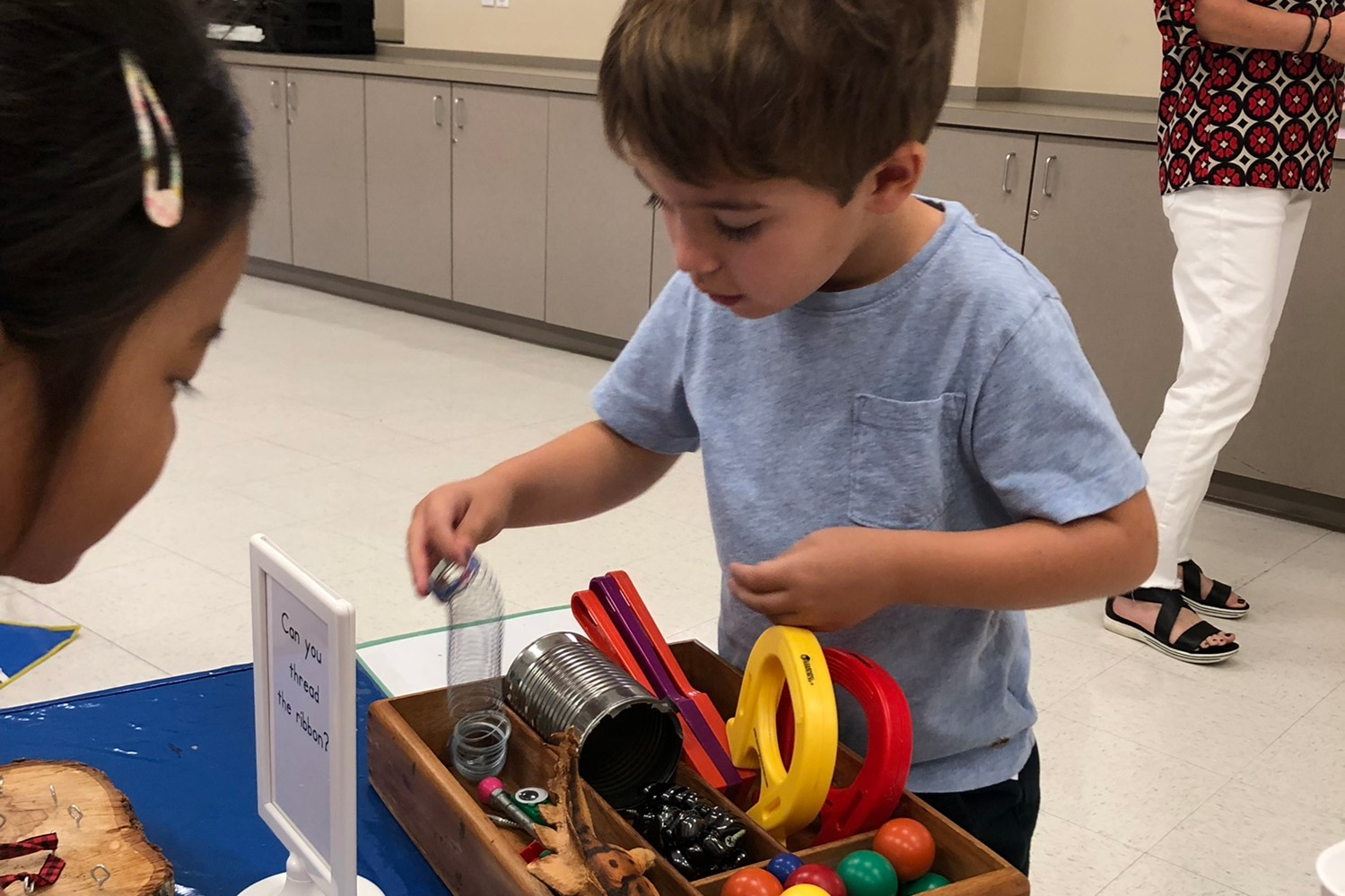 Enrichment Classes - We offer several different enrichment classes including art, science, motor skills, music, and chapel.