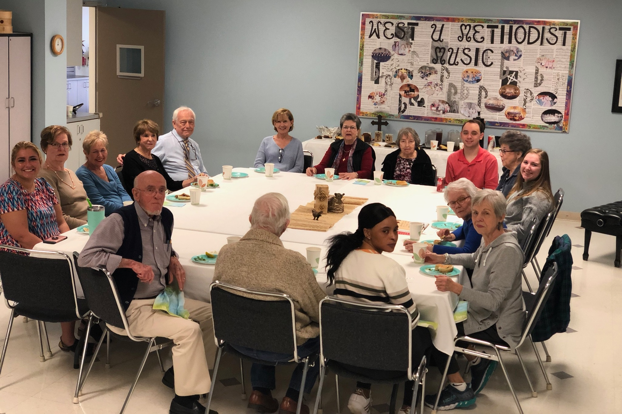 Senior Adult Ministry - Senior adults meet every Wednesday during the spring and fall for a Fellowship Lunch at 10am in the Choir Room. They enjoy various activities and a meal together. Once a month, the group goes out for lunch during the meeting period. Everyone is welcome and invited to these events!
