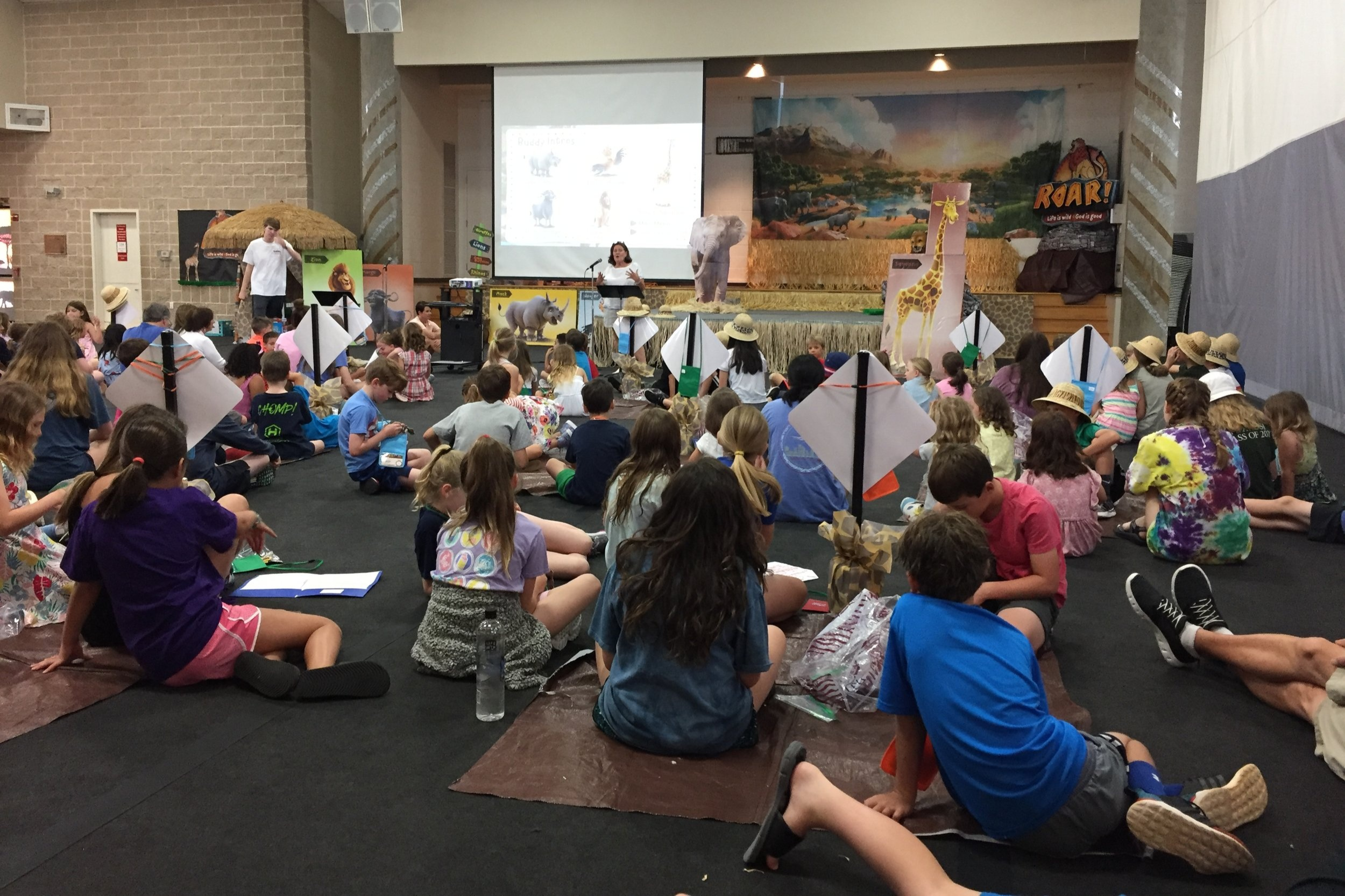 Vacation Bible School - We had a great week of fun-filled Bible adventures teaching us about how life is wild, but God is good!2020 dates and registration will be available Spring 2020.