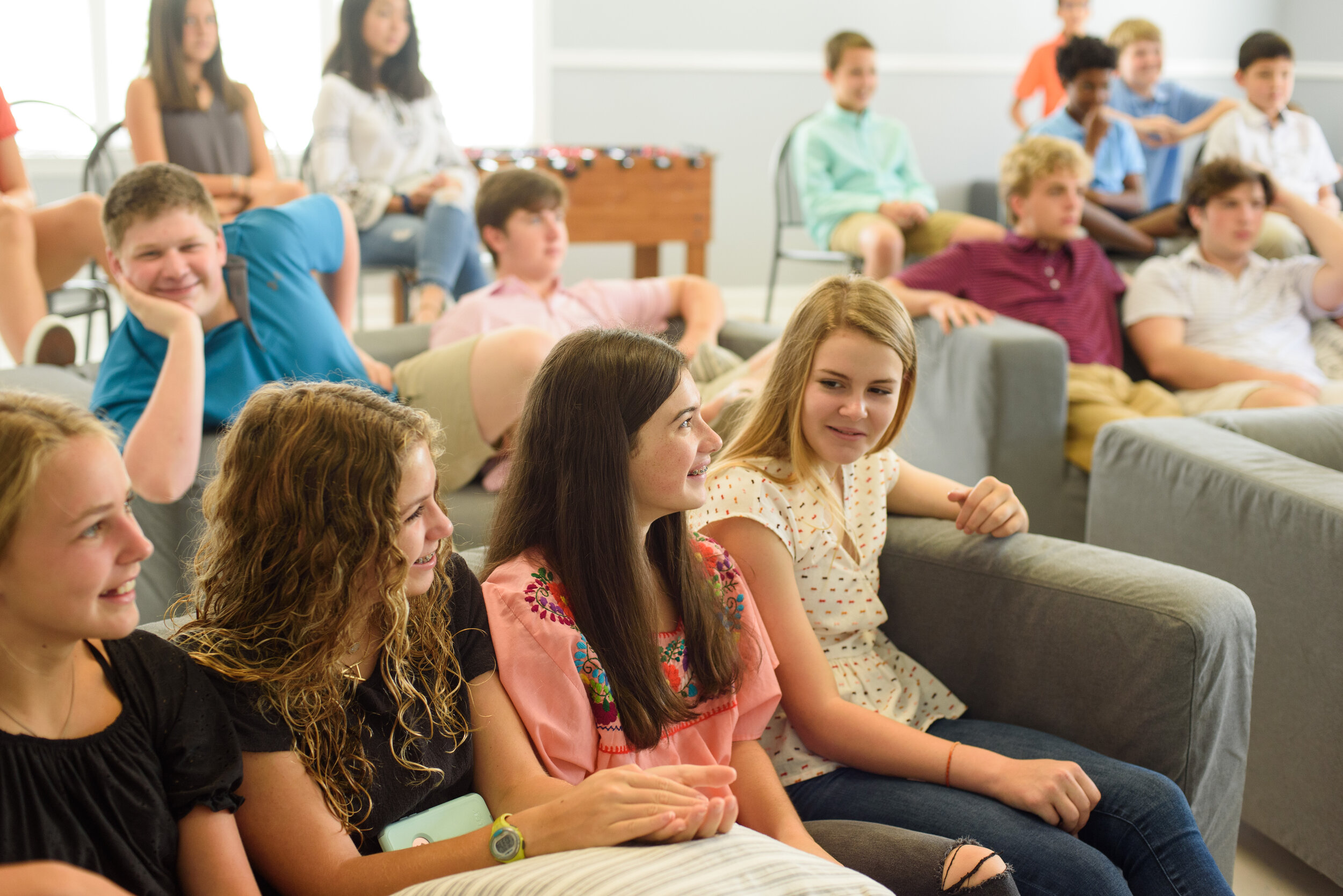 Sunday School - Make new friends, hang out with old friends and learn fun and practical lessons about the Bible and Christianity.Every Sunday at 10am in Room 237