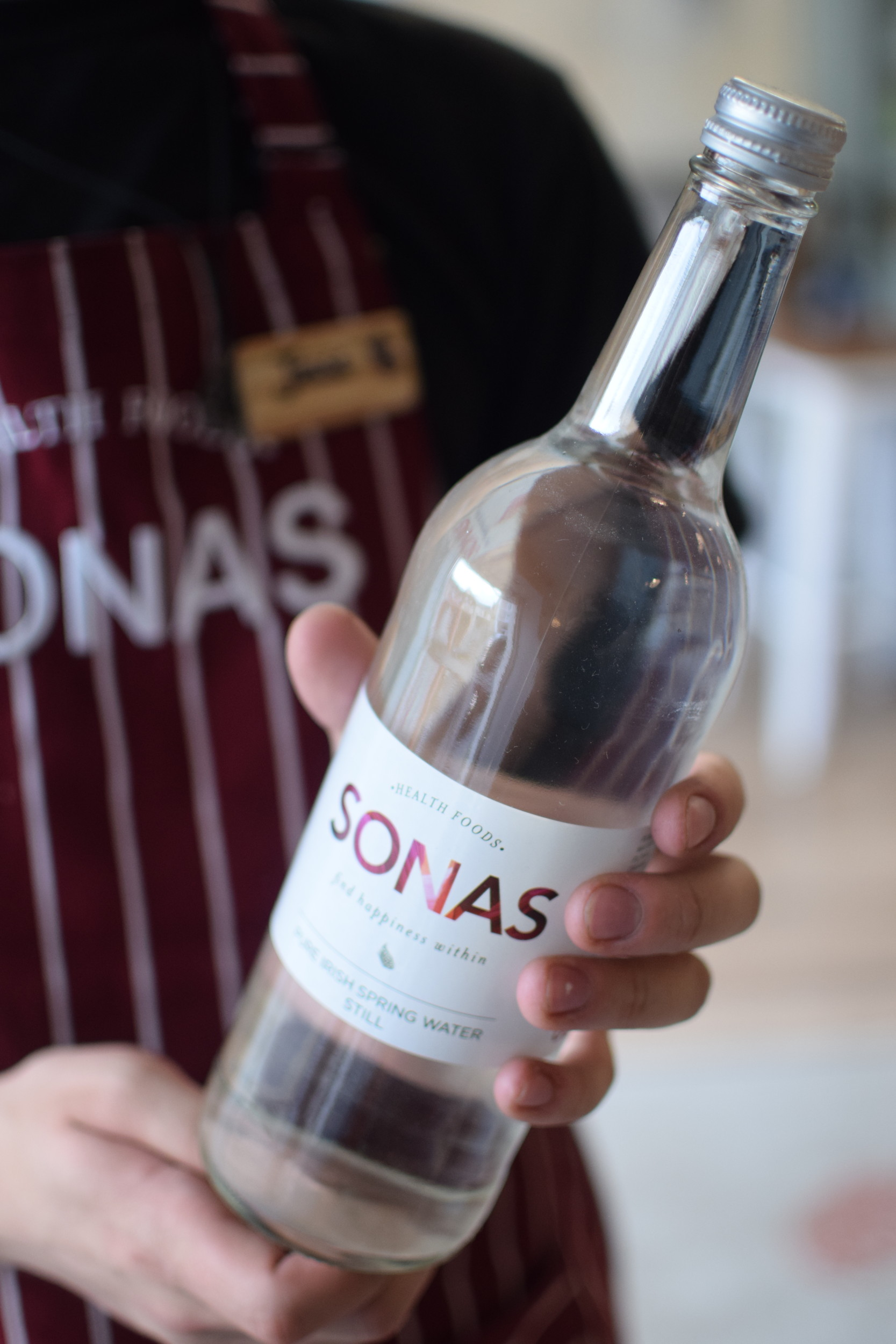Sonas Water in Hand.JPG