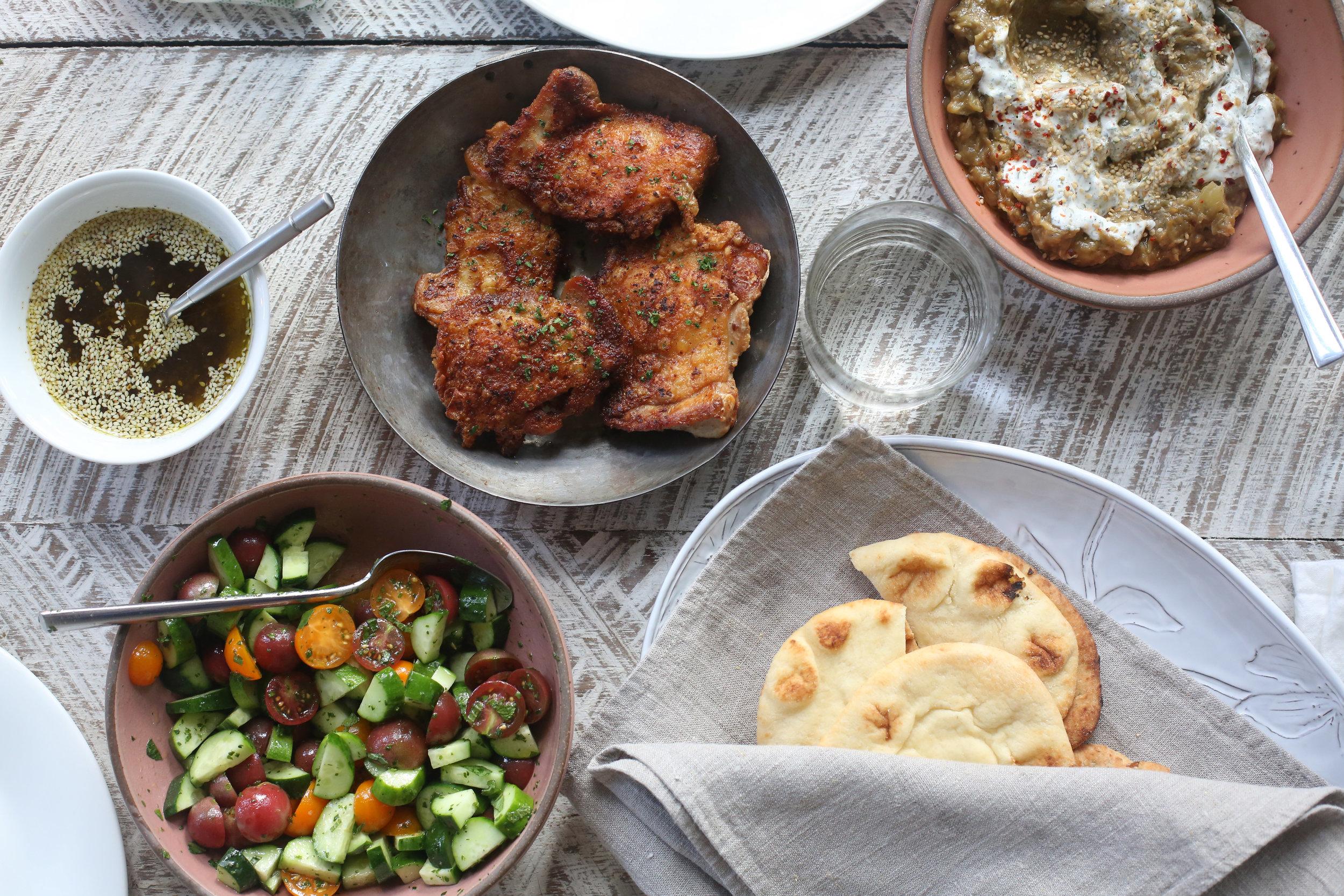Food styling for Chef Whitney Otawka.