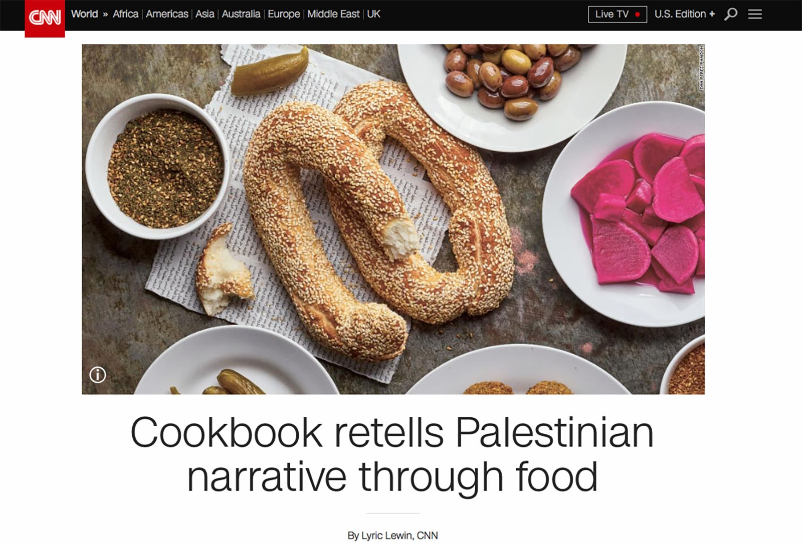 Reem Kassis didn't set out to be an author. Or a chef for that matter.  In fact she made it a point to stay as far away from the kitchen as possible.  But a desire to preserve her Palestinian heritage for her daughters led her towards her destiny in an unlikely way.  It began by collecting recipes and stories from the women in her family and before long she had gathered enough that she began to formulate a book proposal.   Read more here