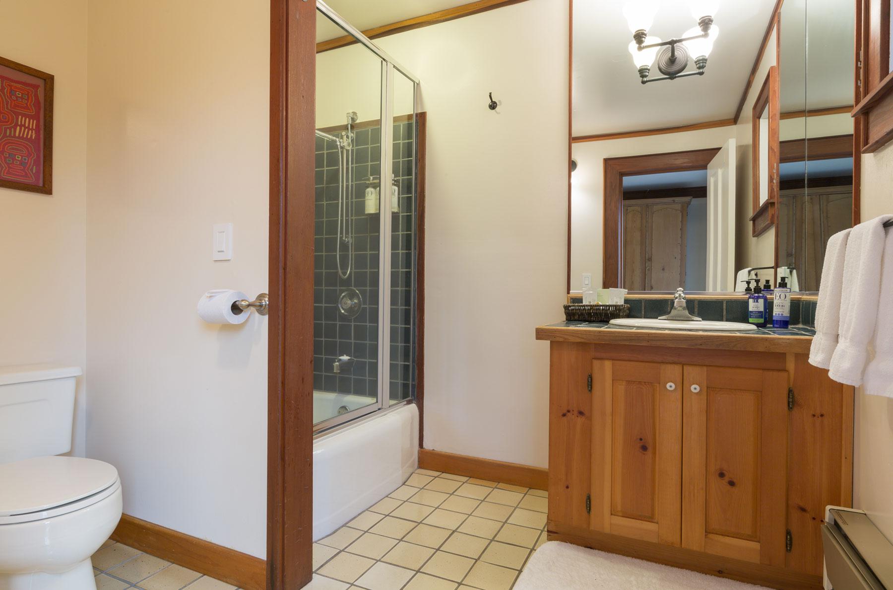 The Pinewood bathroom