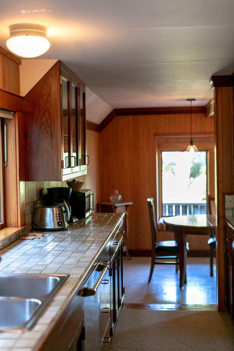 Kitchen at Glendeven Inn Barn Loft