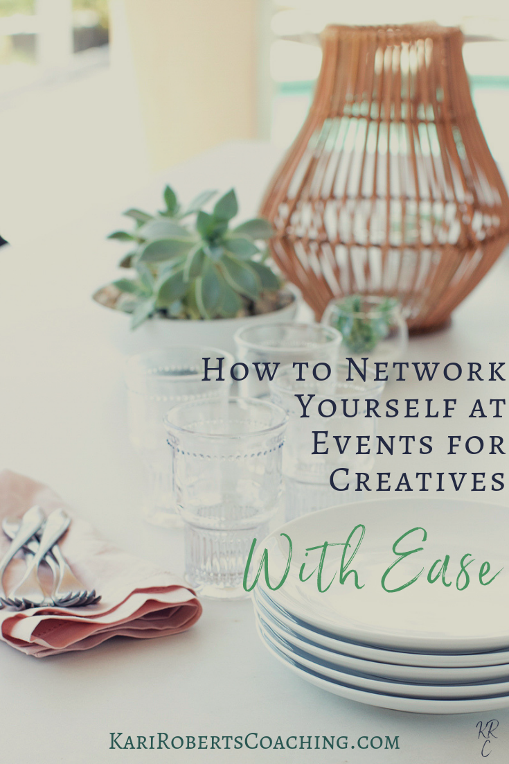 How to Network Yourself at Events for Creatives pin.png