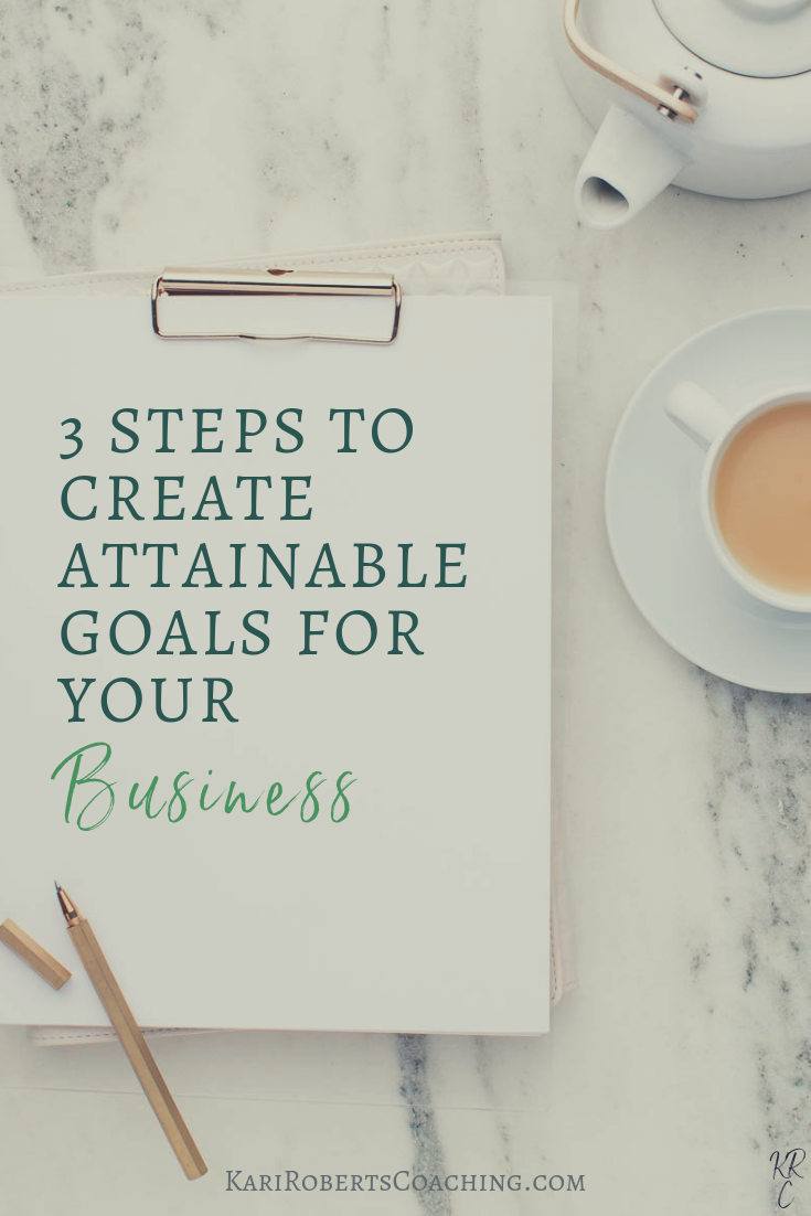 3 STEPS TO CREATE ATTAINABLE GOALS FOR YOUR Business pin.png