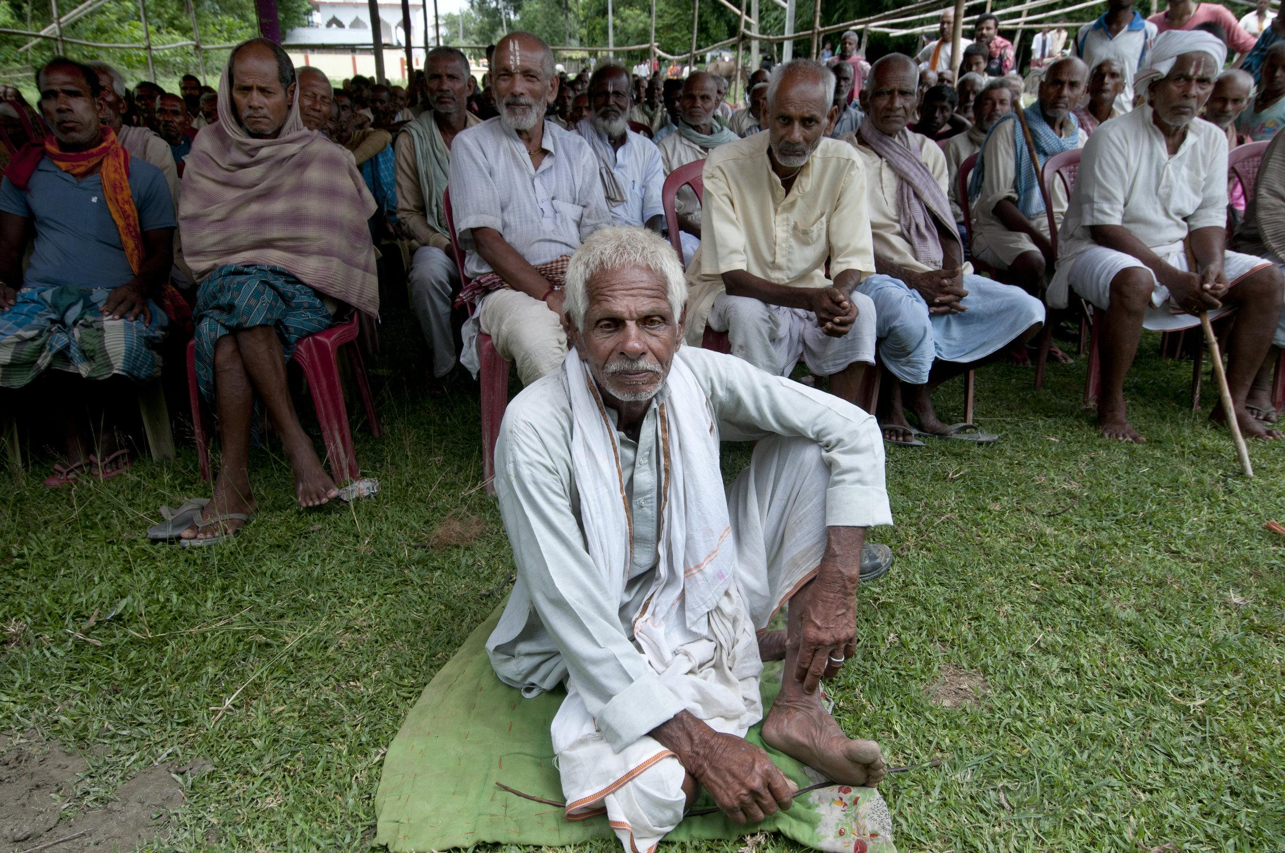 - 'The backbone of the eradication of blindness in Bihar.'Thakur Dharmendra SinghDirector, Laxman Eye Hospital, Bihar.