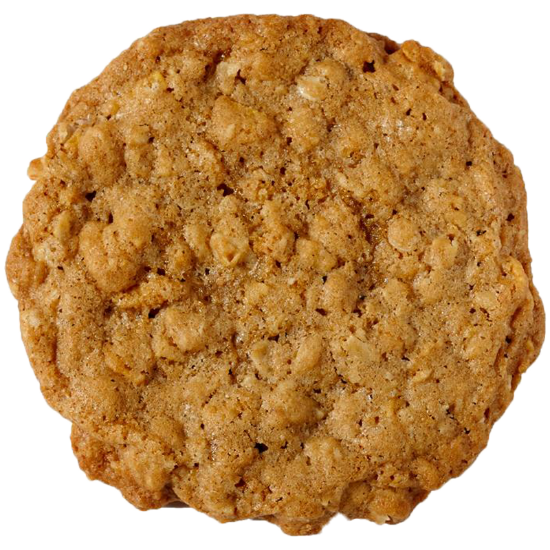 Oh this isn't just any regular oatmeal cookie. We've added a dash of cornflakes for a crunch that will keep your taste buds wanting more.