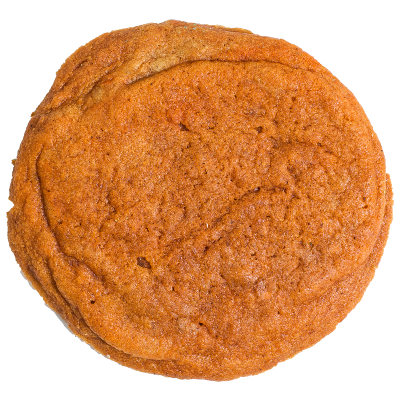"""Say it with me, """"No canned pumpkin."""" Made from fresh pumpkin this cookie is sure to spice up your Holiday."""