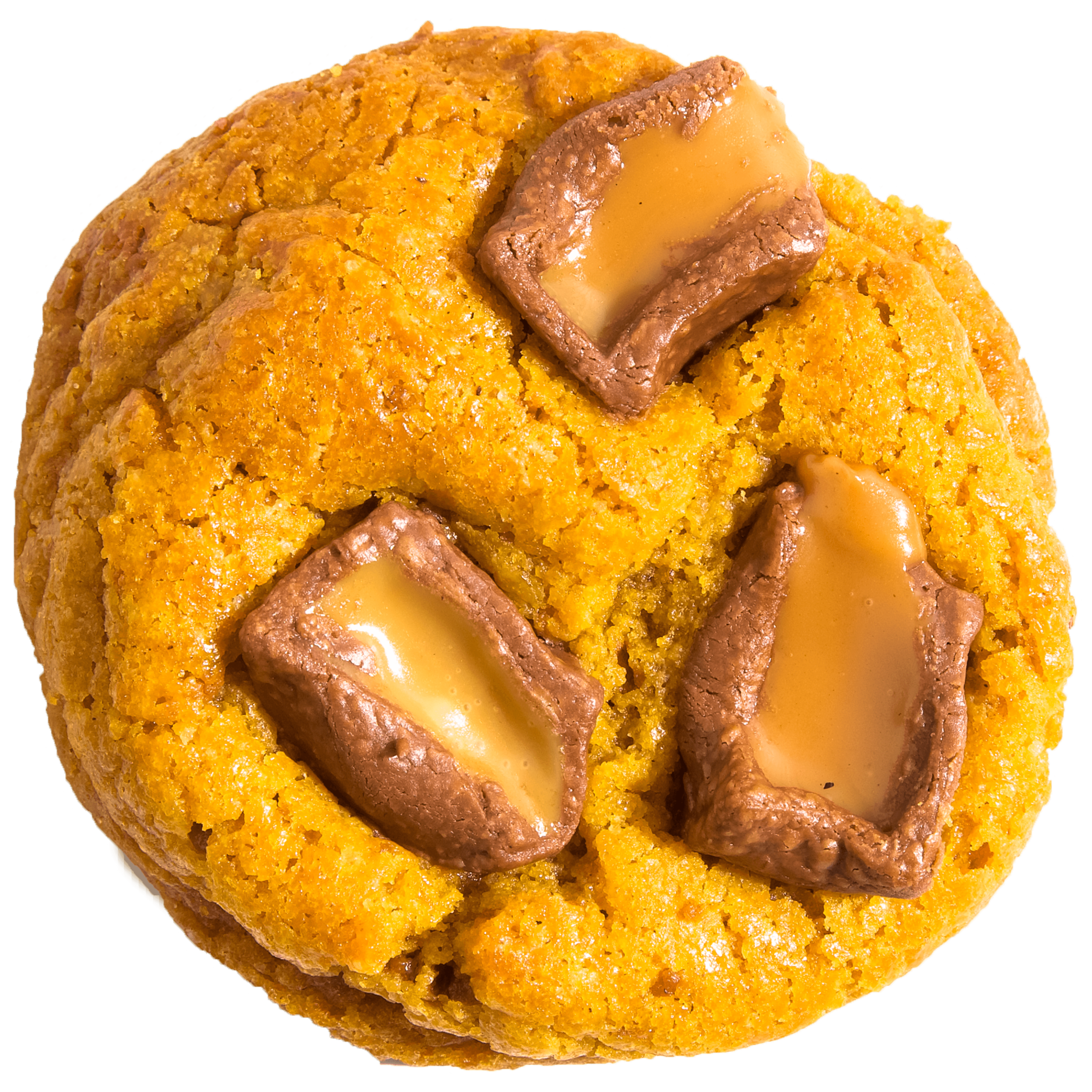 You thought we weren't gonna spice it up!? Well, meet Butter Rolol. Our signature Butter Cookie topped with classic Rolls.