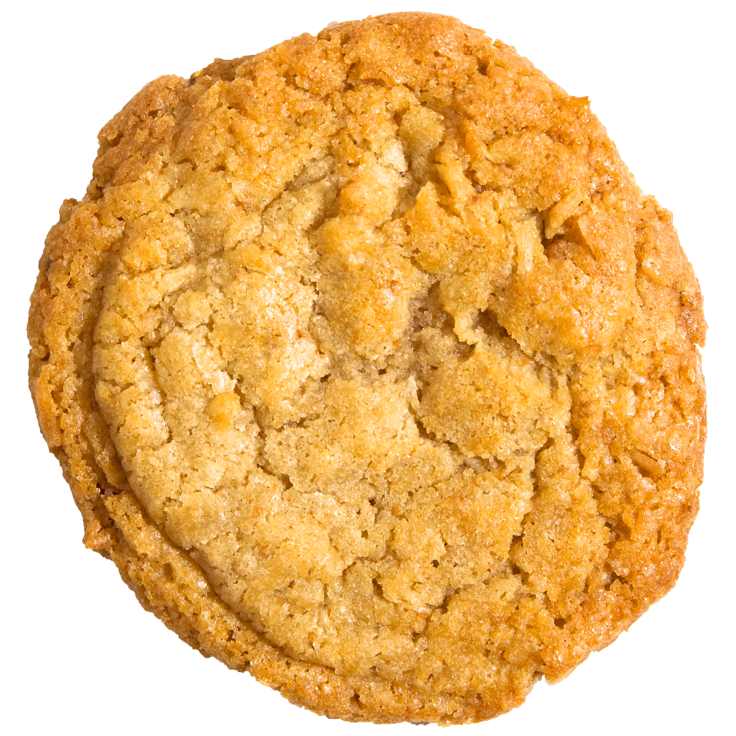 Ahh…the pureness of coconut. Our Coconut Pie Cookie is simple and straight to the point. Coconut. Done right.