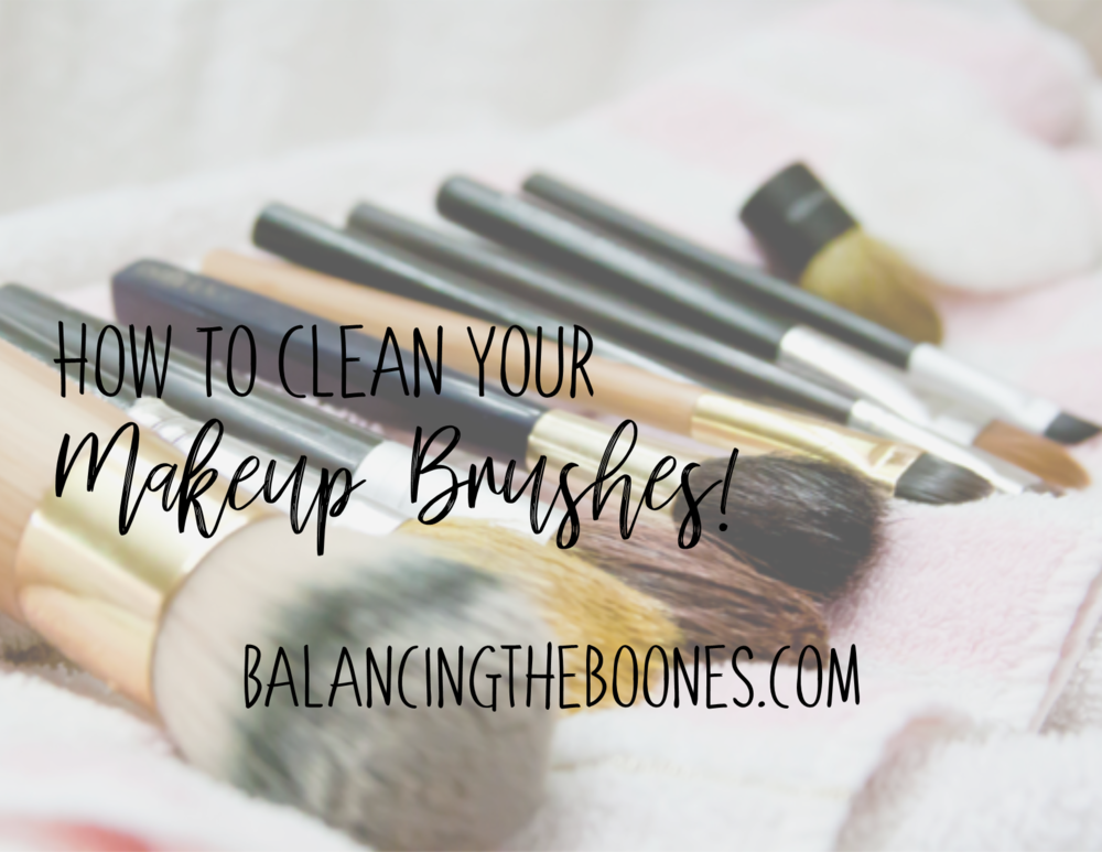 How To Clean Your Makeup Brushes (Vlog