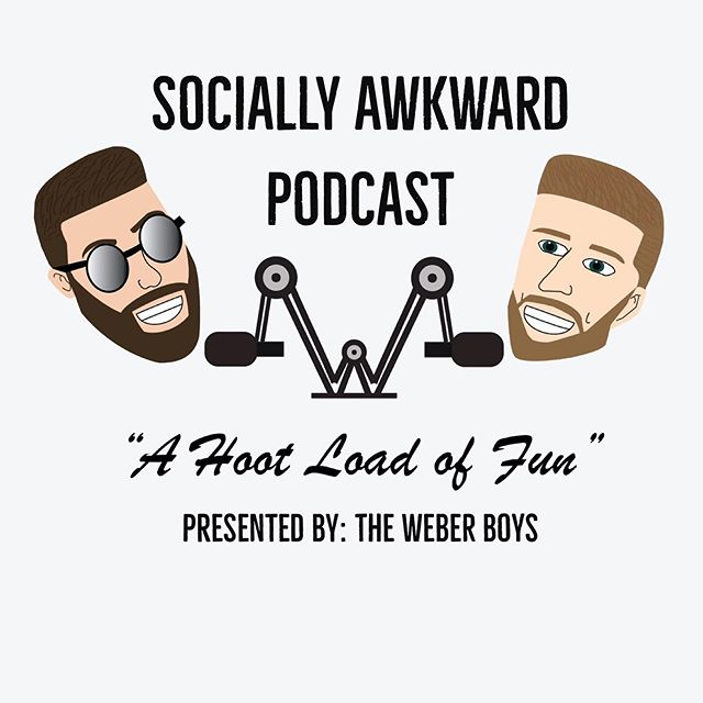 """Over the next two weeks we will be wrapping up the @sociallyawkwardpod """"Prologue"""" if you will. After that, our new show @awkwardmmashow is going to hit a YouTube screen near you starting August 22. Make sure you're following @sociallyawkwardpod for episode 51 and 52 clips, show memes, and updates for when Season 1 of that hits. This page is going to be the hub for it all. #hahesaidthehub #weberboysuniverse"""