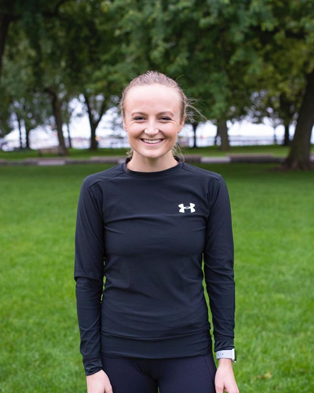 """""""I run because I find happiness chasing a PB in ways I never could chasing a number on the scale. Too often I think we can feel pressure to workout or exercise in order to achieve that """"perfect"""" body or """"ideal"""" weight. When that's the only focus it can create a really unhealthy mindset, and really we should be focused on creating the healthiest version of ourselves starting from the inside out. Running helps me get closer to that version of myself and pushes me to a positive mindset that enables me to focus on and achieve my goals. And thanks to MOM, I've been able to share that experience with some pretty amazing and mindful people."""" - Carolyn Buchanan, 23. • 📷: @moiraness • #runforMOM"""