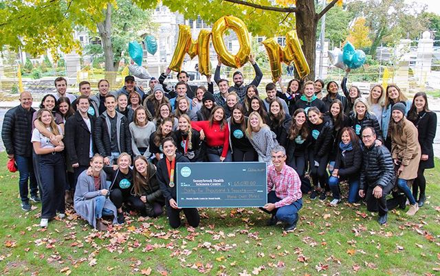 Over $67,000 raised for the construction of the new Murphy Family Centre for Mental Health at Sunnybrook Hospital.  Thank you to the 90 runners and over 900 different donors whohelped Team MOM to be such a smashing success.  Your supportshows everybody that together, we can replace shame with strength.  Here's to a wonderful run and a fantastic season.Go MOMs Go!