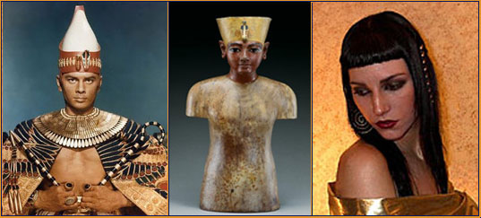 Egyptian influence in fashion