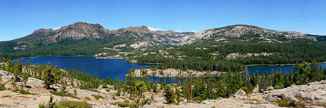 Silver Lake panorama