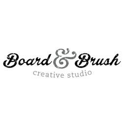 Board and Brush logo